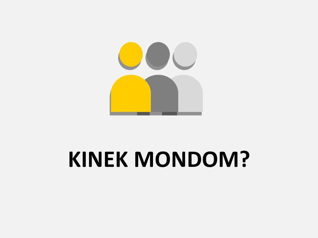 KINEK MONDOM