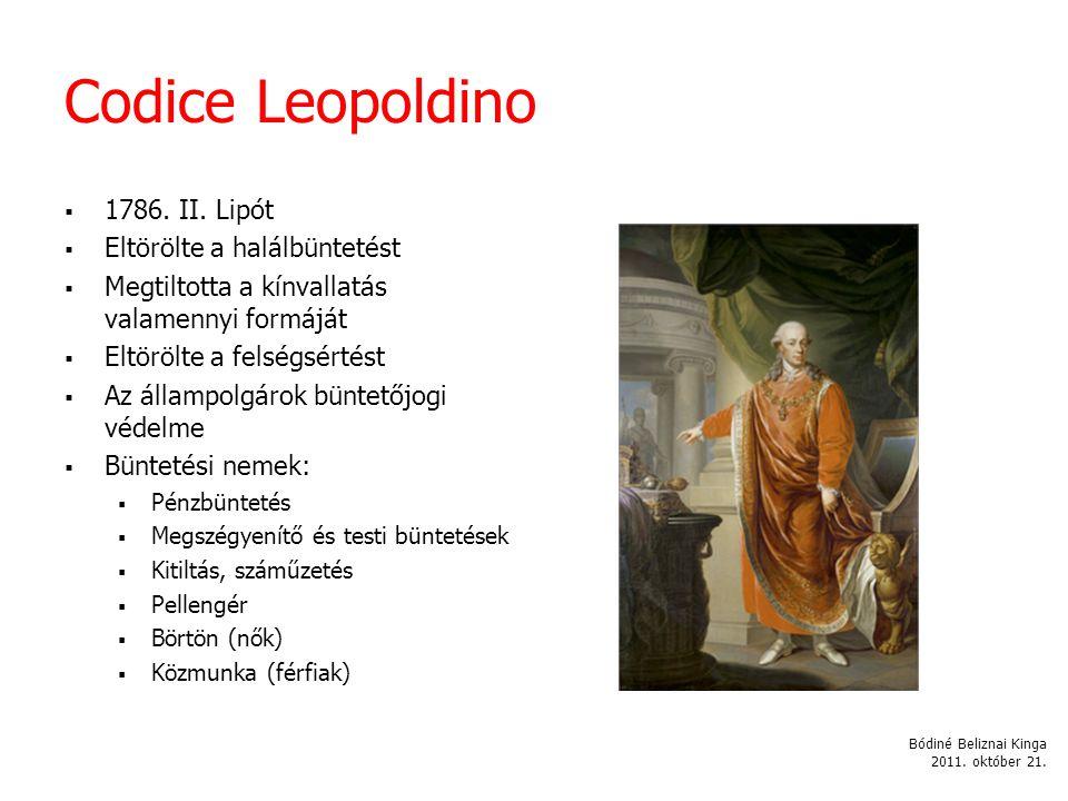Codice Leopoldino  1786.II.