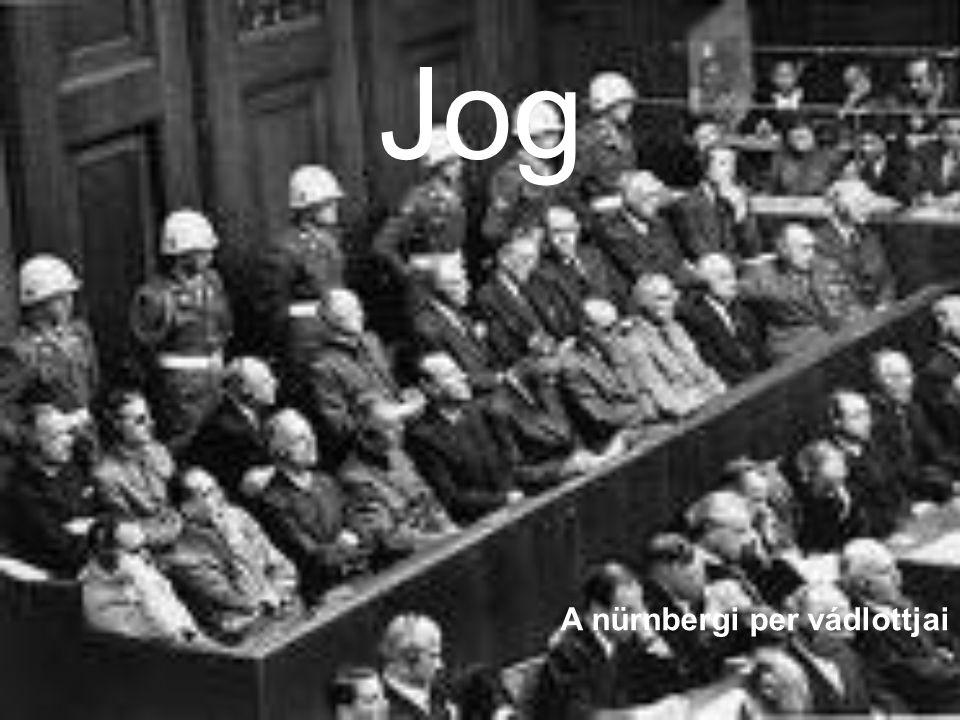 Jog A nürnbergi per vádlottjai