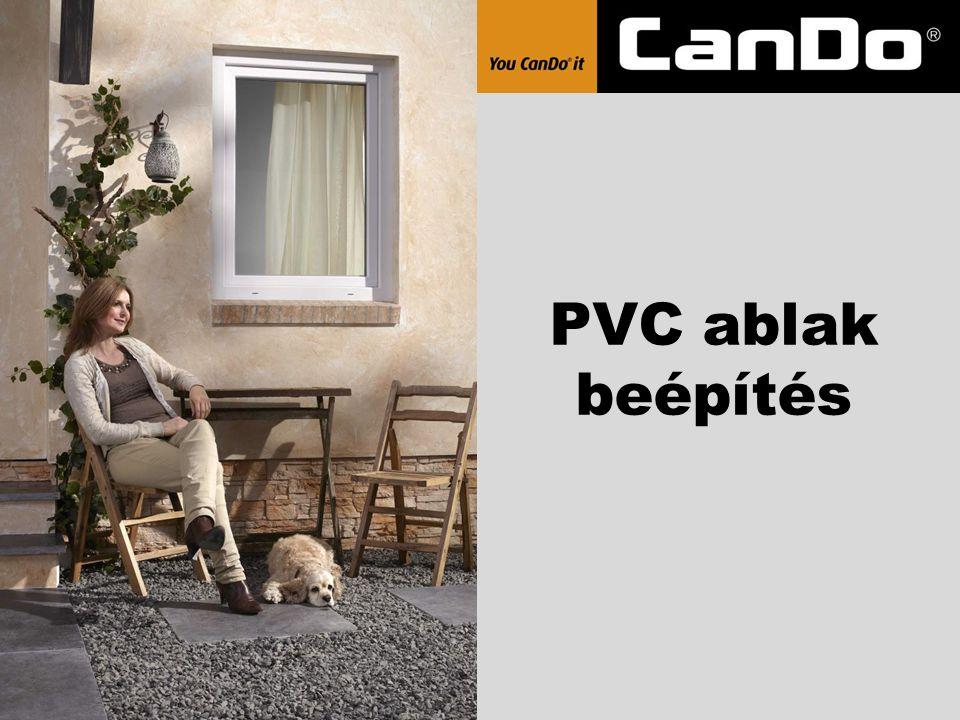 PVC ablak beépítés