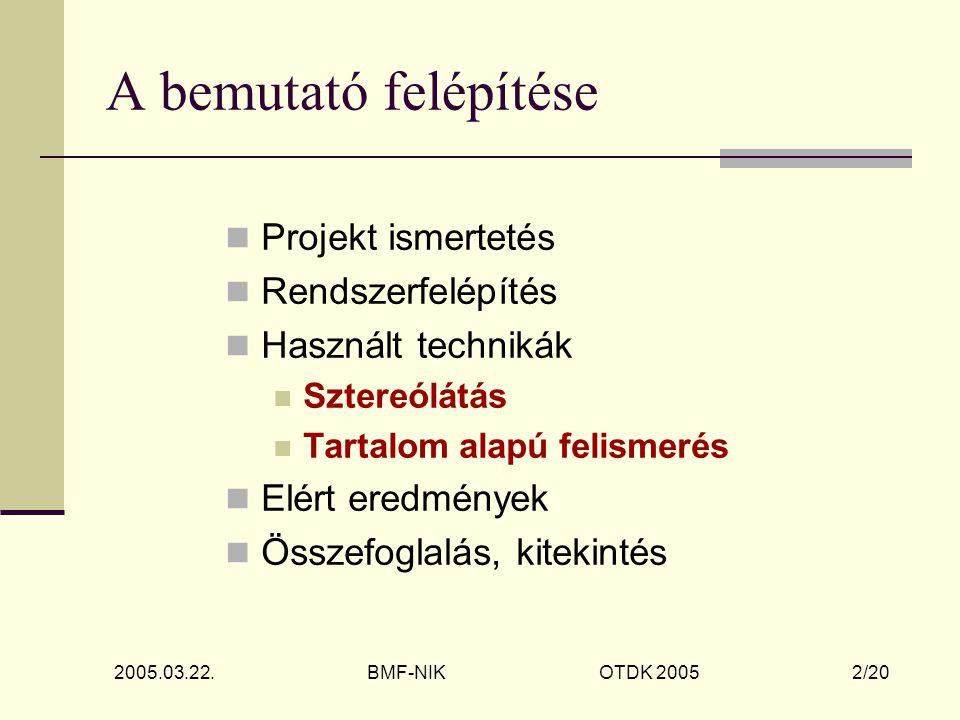 2005.03.22. BMF-NIK OTDK 2005 13/20 Demo