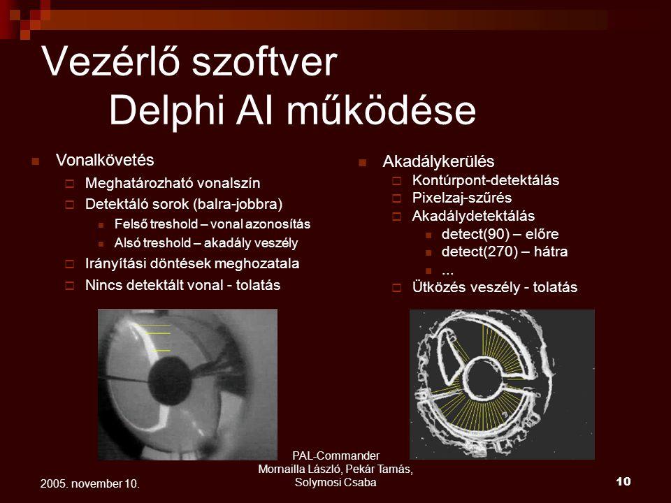 PAL-Commander Mornailla László, Pekár Tamás, Solymosi Csaba 11 2005.