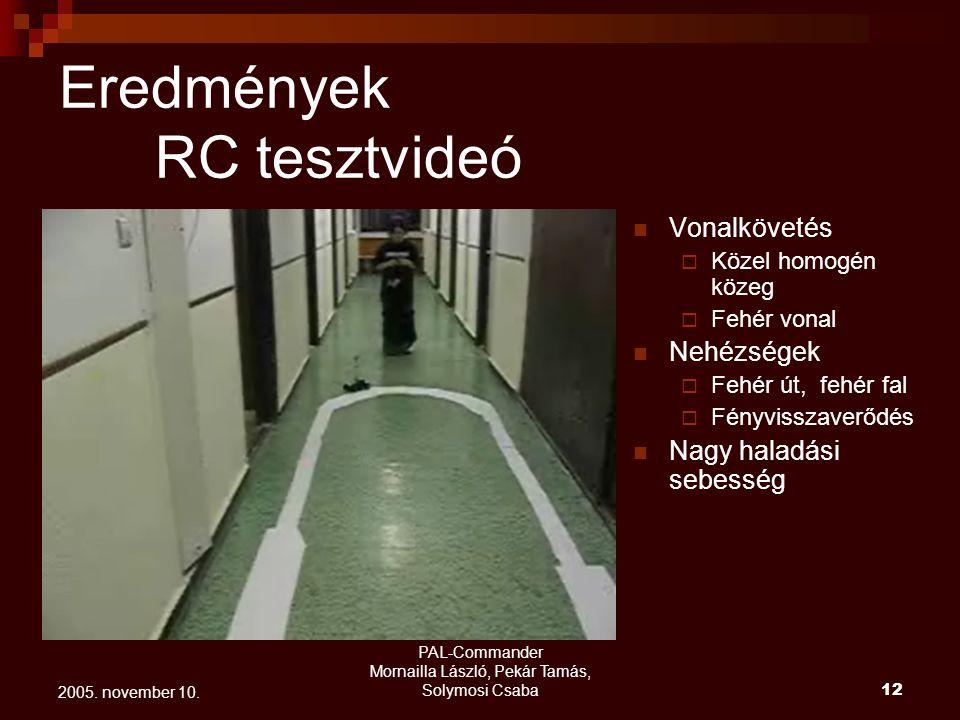 PAL-Commander Mornailla László, Pekár Tamás, Solymosi Csaba 13 2005.