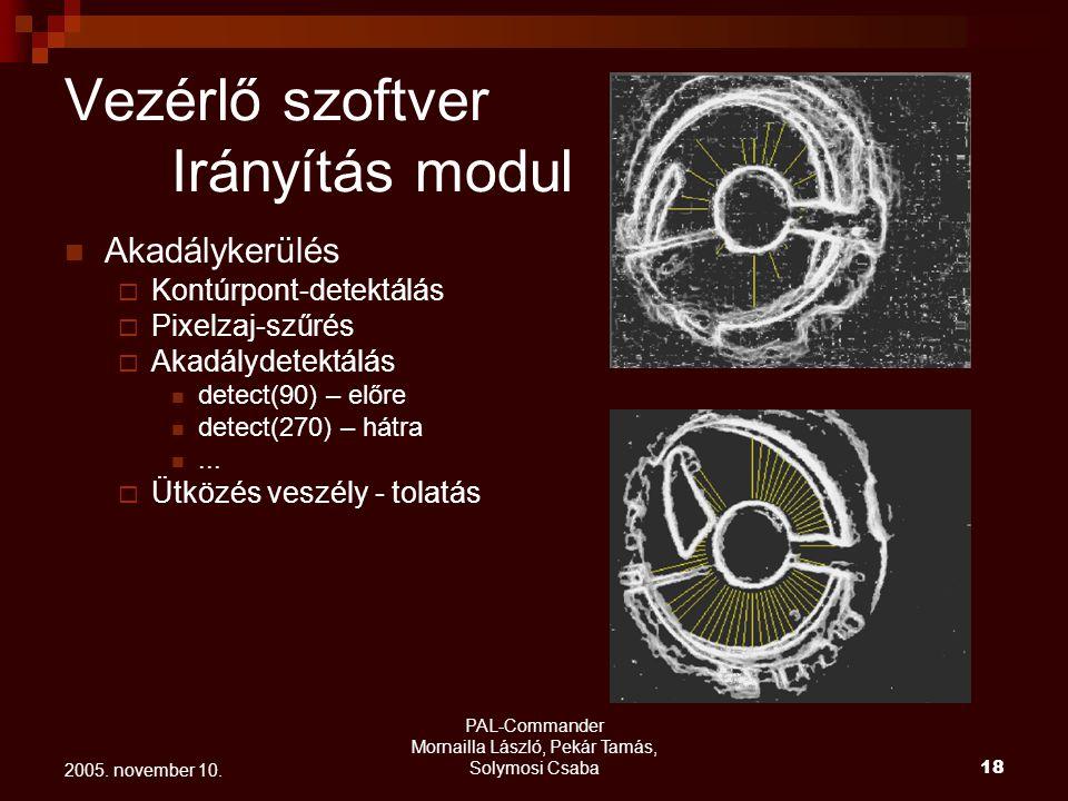 PAL-Commander Mornailla László, Pekár Tamás, Solymosi Csaba 19 2005.