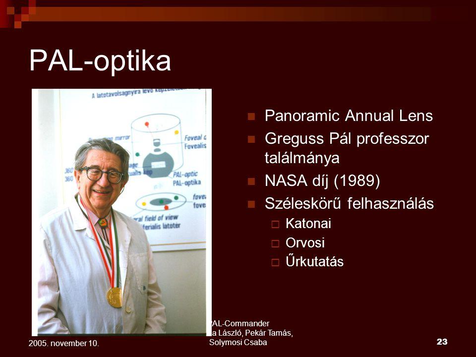 PAL-Commander Mornailla László, Pekár Tamás, Solymosi Csaba 24 2005.