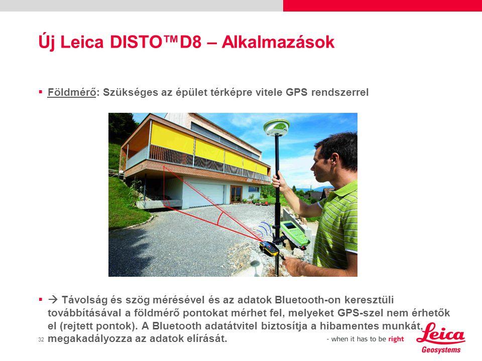 33 Új Leica DISTO™D8 – Alkalmazások  Ablakkészítő: Mielőtt legyártaná a megfelelő ablakokat, fel kell mérnie a pontos méreteket.