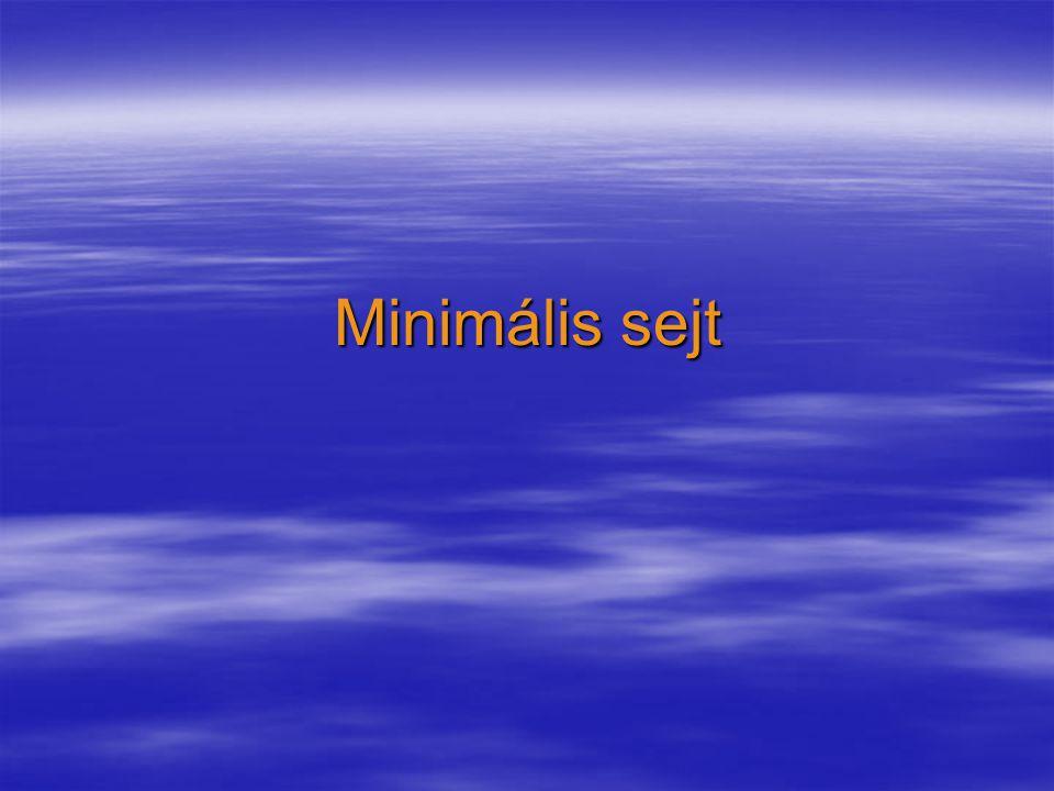 Minimális sejt