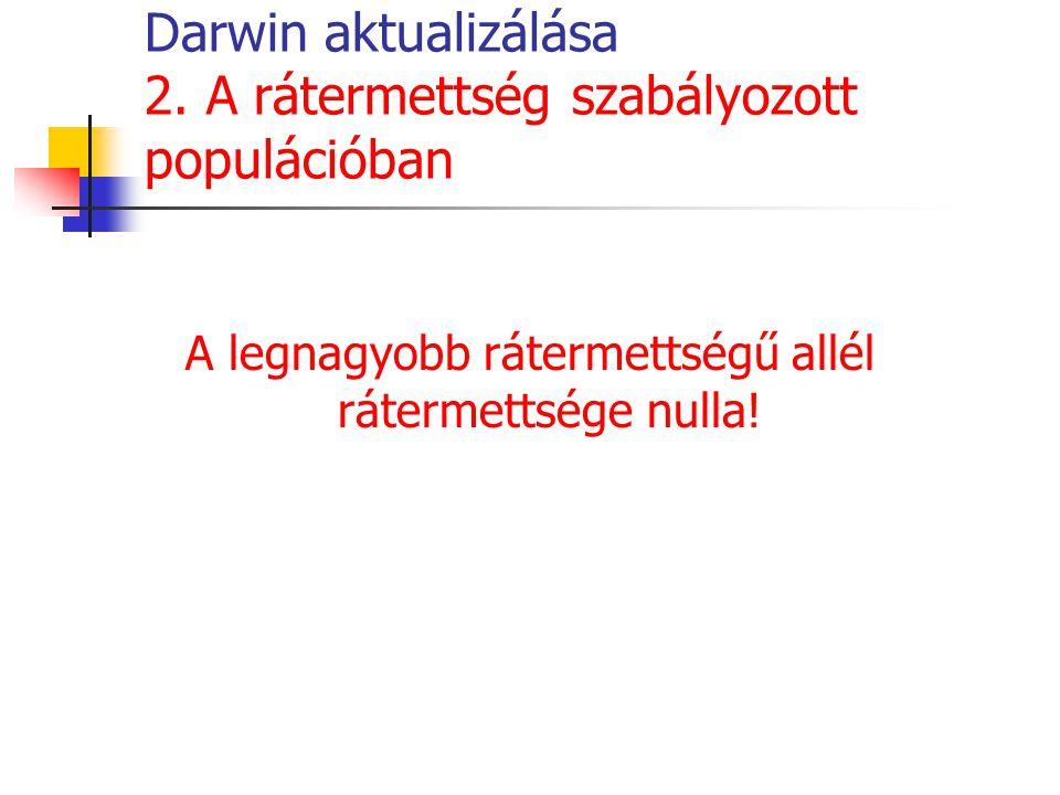 Darwin aktualizálása 2.