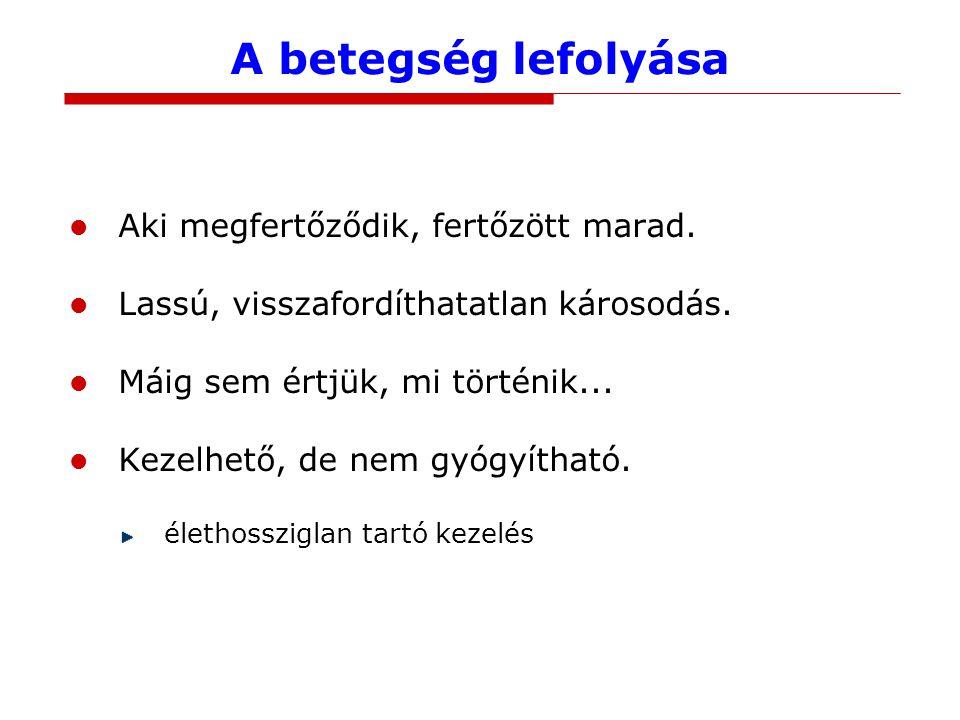 A hazai helyzet Az adatokat gyűjti: Országos Epidemiológiai Központ www.oek.hu aktuális felmérés: 2013, 1.