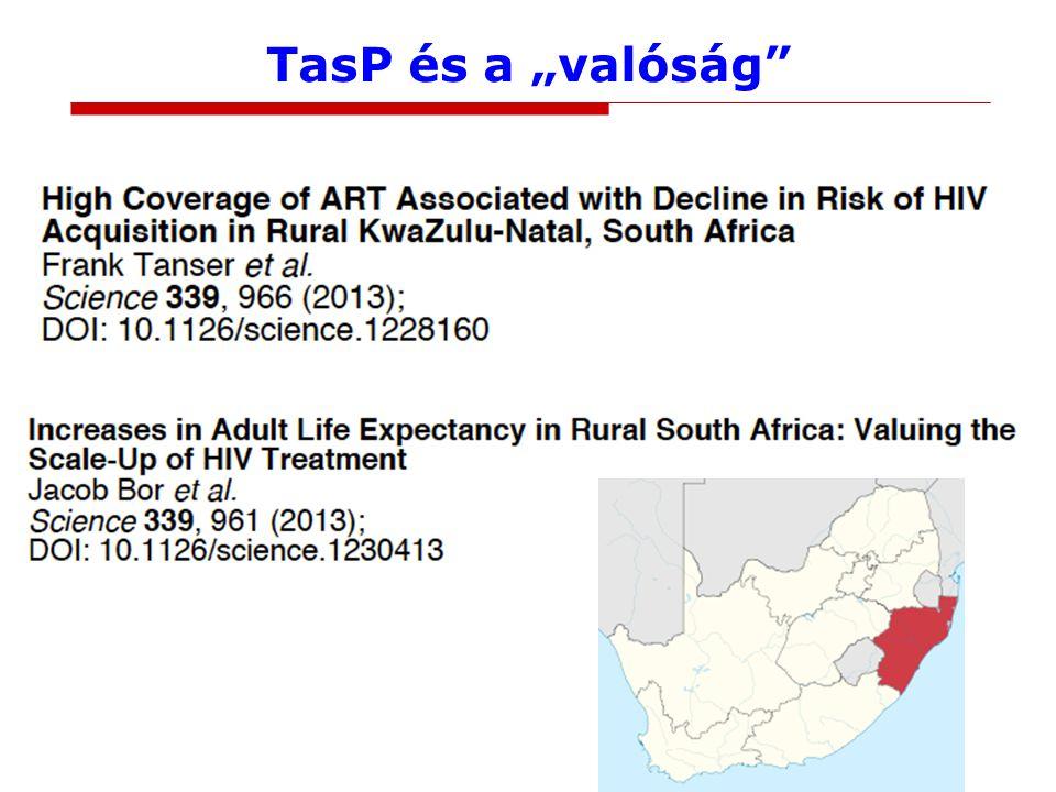 """TasP és a """"valóság"""