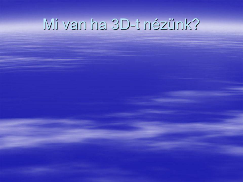 Mi van ha 3D-t nézünk