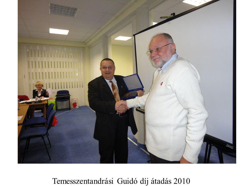 Temesszentandrási Guidó díj átadás 2010