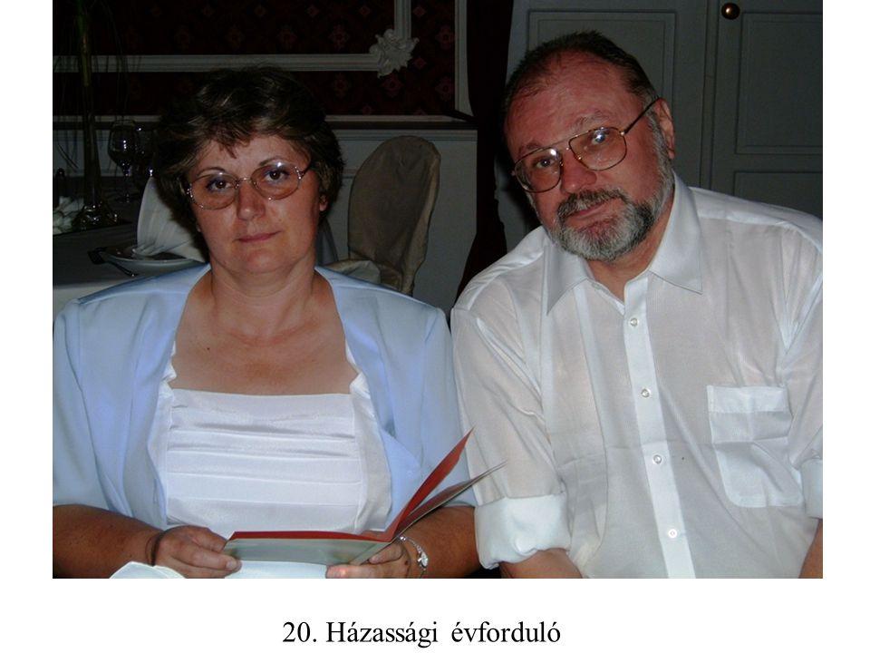 20. Házassági évforduló