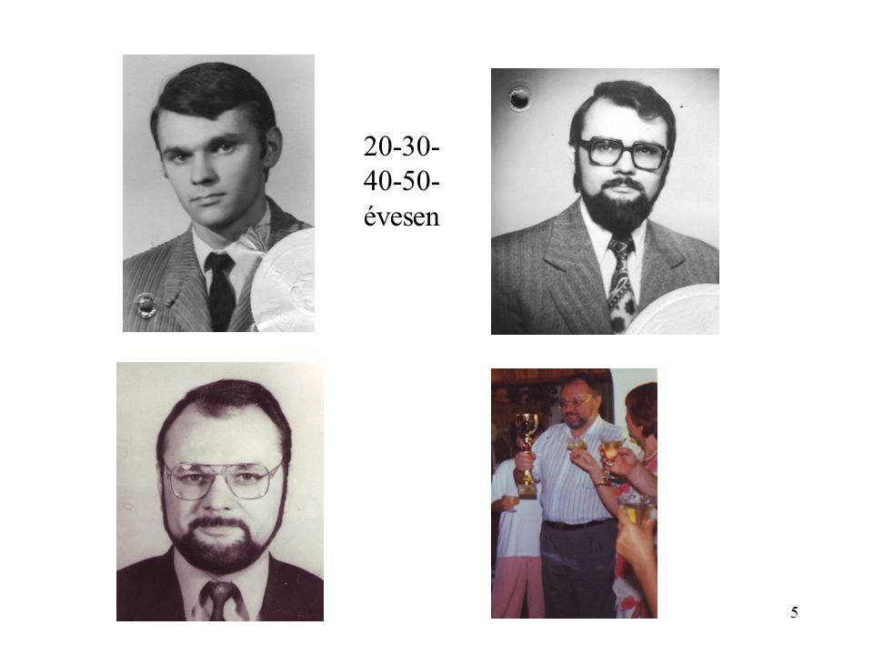 5 20-30- 40-50- évesen