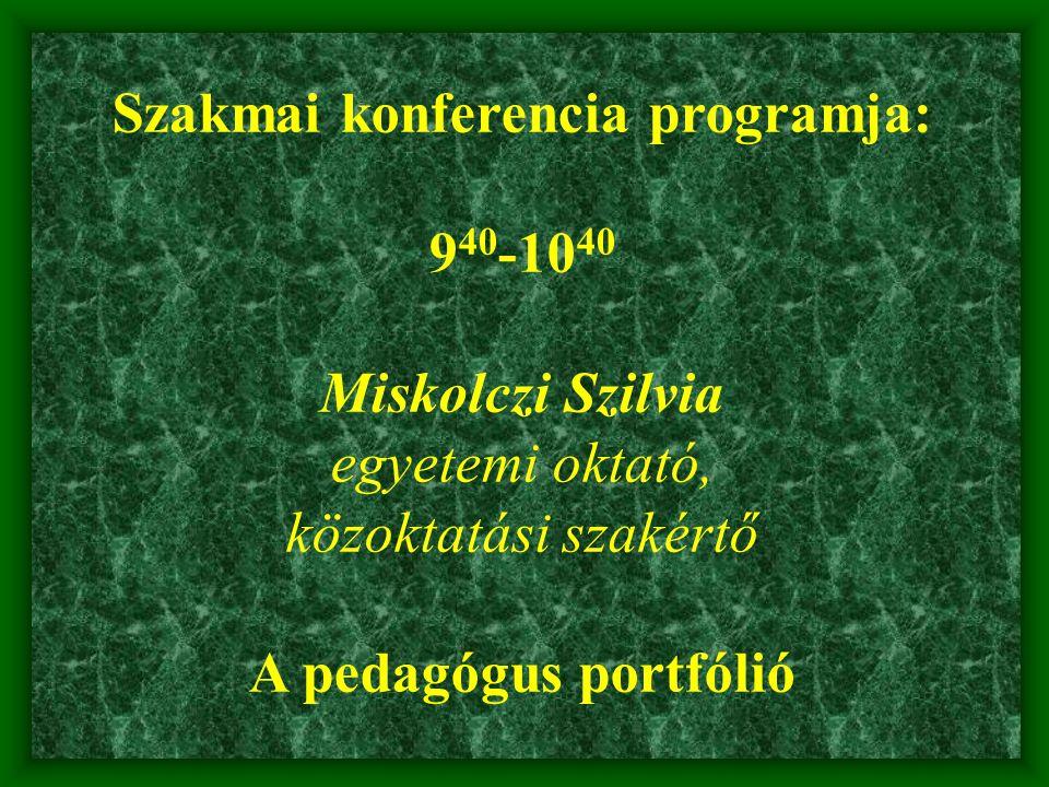 Szakmai konferencia programja: 10 30 -11 00 Kávészünet Apáczai Kiadó kiállítása az új tankönyveiből
