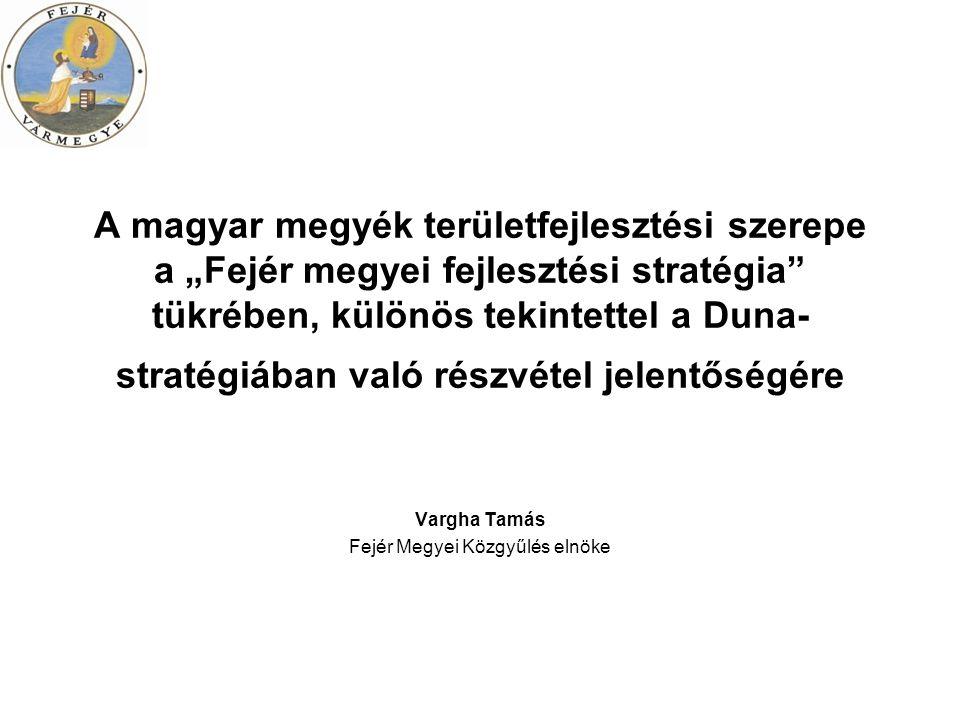 A Duna régióra vonatkozó európai uniós stratégia A stratégiában vázolt részletes cselekvési terv az alábbi négy pillérre épül: 1.