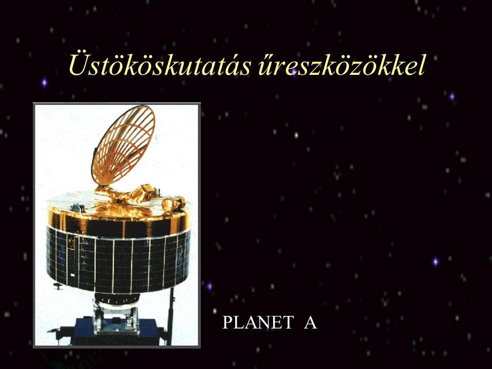 Üstököskutatás űreszközökkel GIOTTO