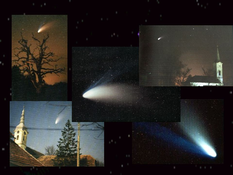Hale-Bopp-üstökös Alen Hale és Thomas Bopp fedezte fel 1995. Július 23-án egymástól függetlenül észlelés közben. A Nemzetközi Csillagászati Unió a C/1