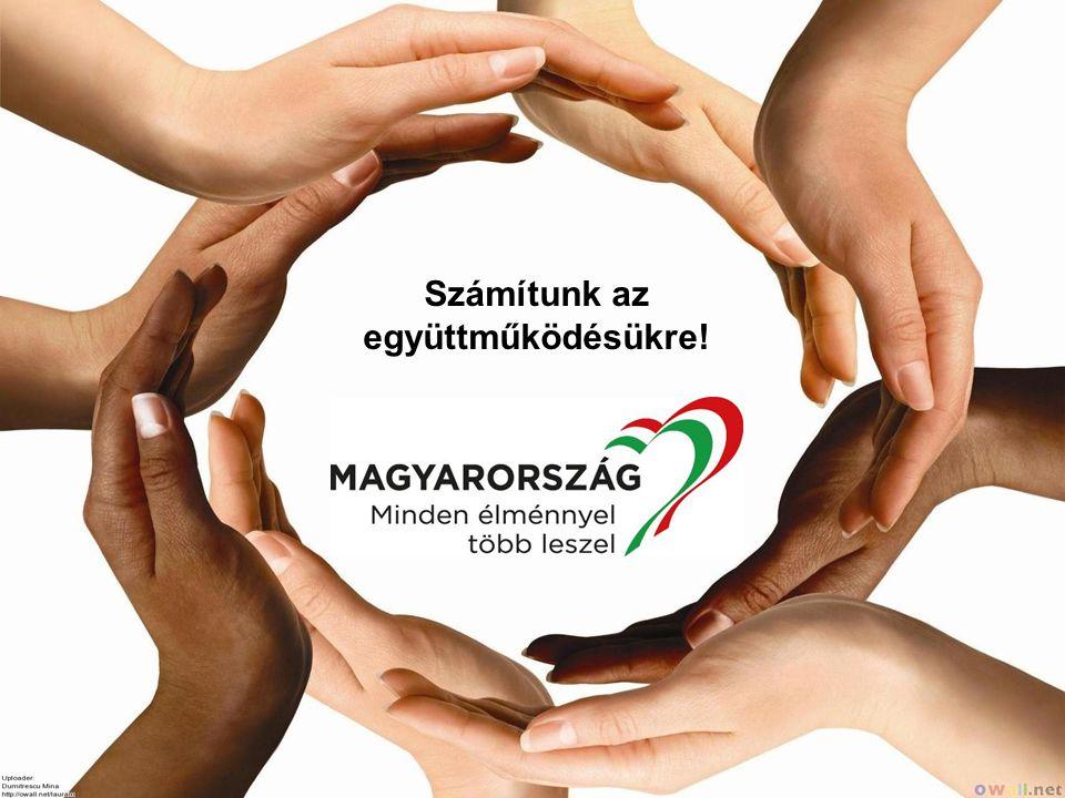 Együtt a Turizmusért! Számítunk az együttműködésükre!