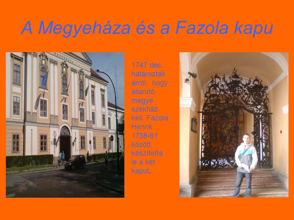 A Bazilika Az egri Bazilikát egyenes sétány és széles lépcsősor köti össze a térrel,ill.