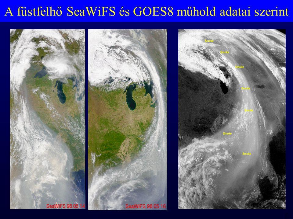 MTA 98 06 23 RBH A füstfelhő SeaWiFS és GOES8 műhold adatai szerint