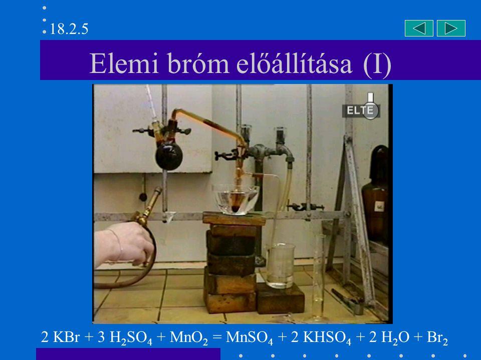 Nátrium-sztannit és bizmut-nitrát 33.1.4.