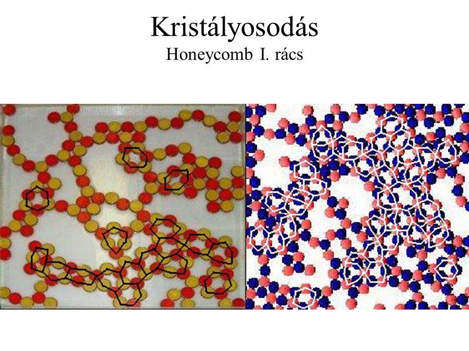 Kristályosodás Honeycomb I. rács