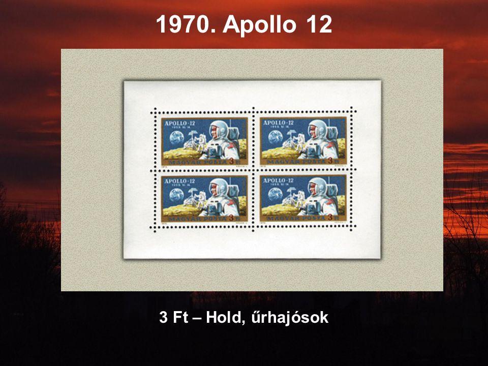 1970. Apollo 12 3 Ft – Hold, űrhajósok