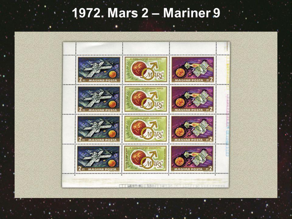 1972. Mars 2 – Mariner 9