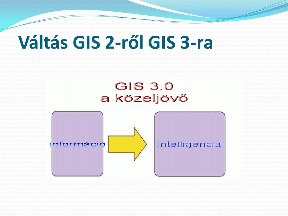 Váltás GIS 2-ről GIS 3-ra