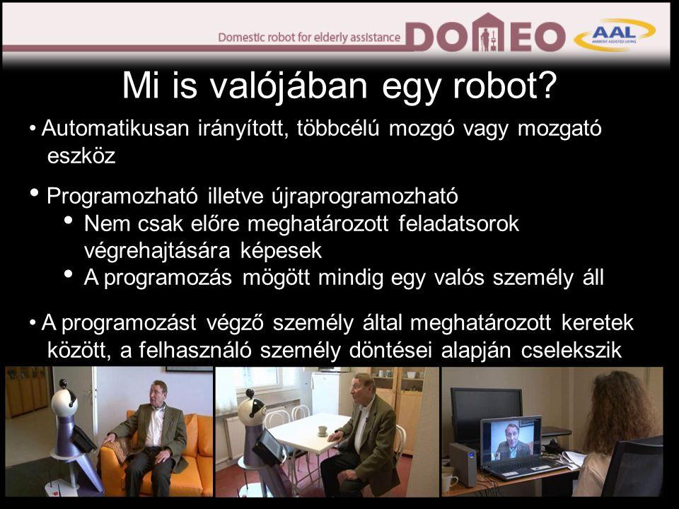 Mi is valójában egy robot.