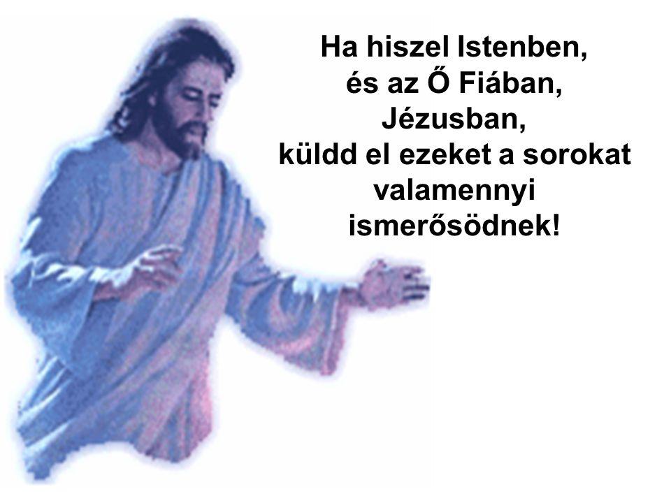 Jézus feltámadt, és most is köztünk él!