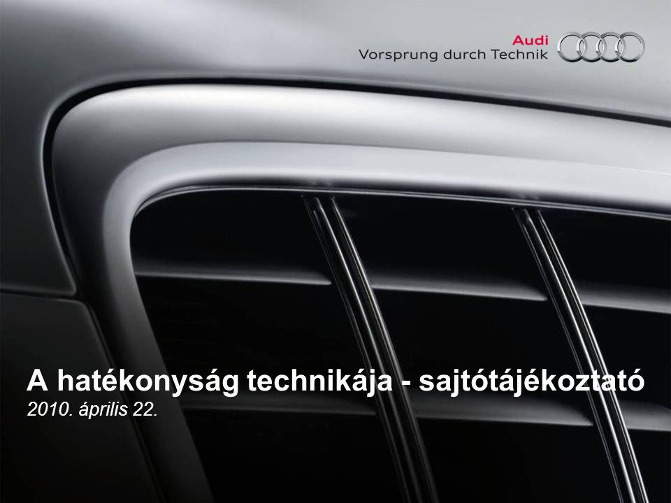 A hatékonyság technikája - sajtótájékoztató 2010. április 22.