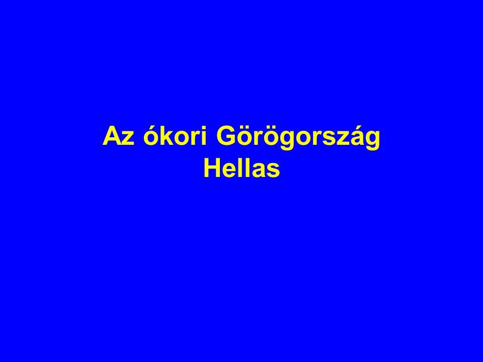 Az ókori Görögország Hellas