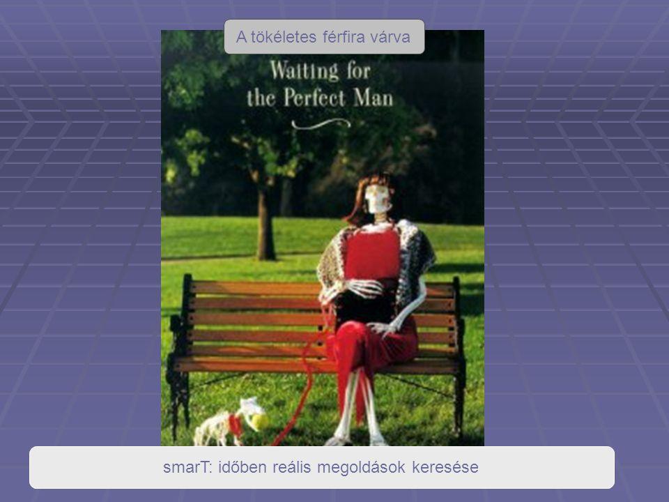 A tökéletes férfira várva smarT: időben reális megoldások keresése