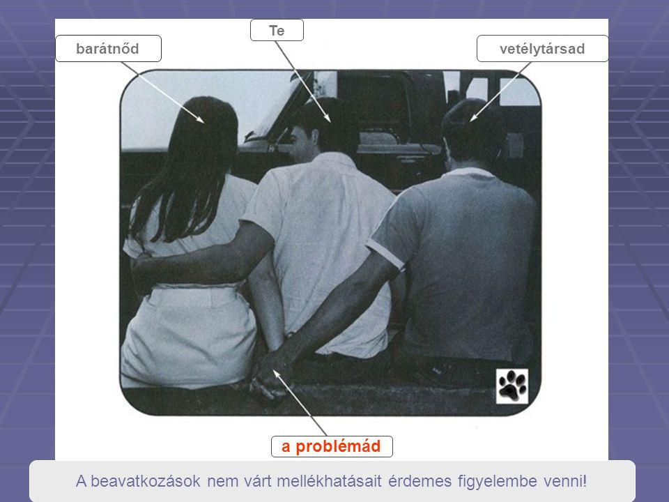 barátnőd Te vetélytársad a problémád A beavatkozások nem várt mellékhatásait érdemes figyelembe venni!