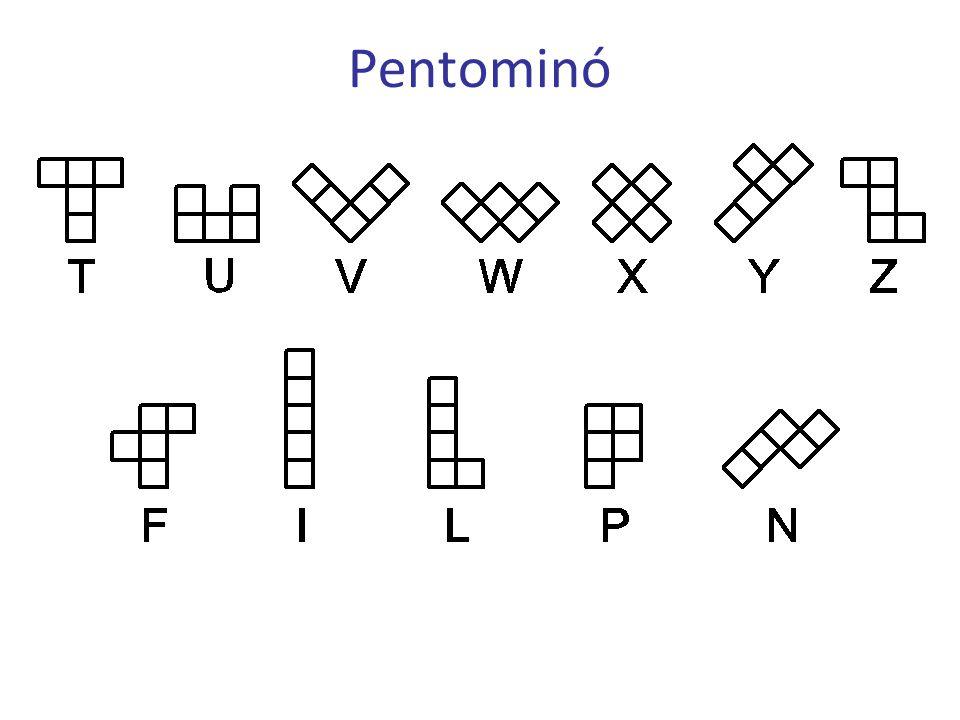 Pentakockák Kockák pentakockákból 3×3×3-as 3 pentakocka + 3 tetrakocka 680 lehetőség 190 jó készlet 40 készlet 1 mo.