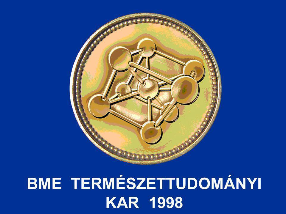 BME TERMÉSZETTUDOMÁNYI KAR 1998