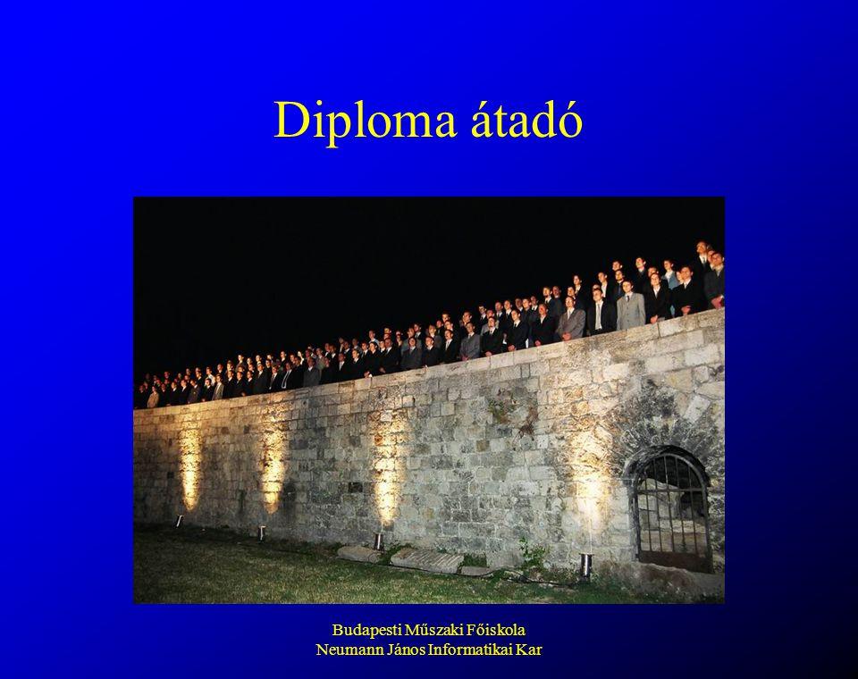 Budapesti Műszaki Főiskola Neumann János Informatikai Kar Diploma átadó