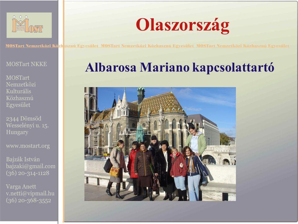Olaszország Albarosa Mariano kapcsolattartó
