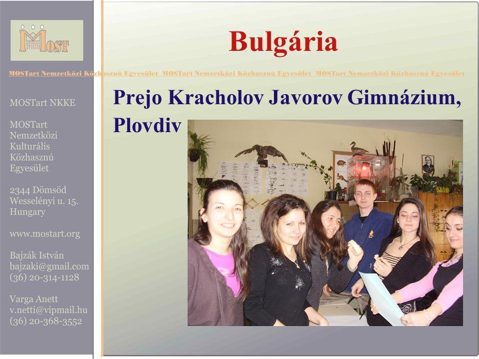 Bulgária Prejo Kracholov Javorov Gimnázium, Plovdiv