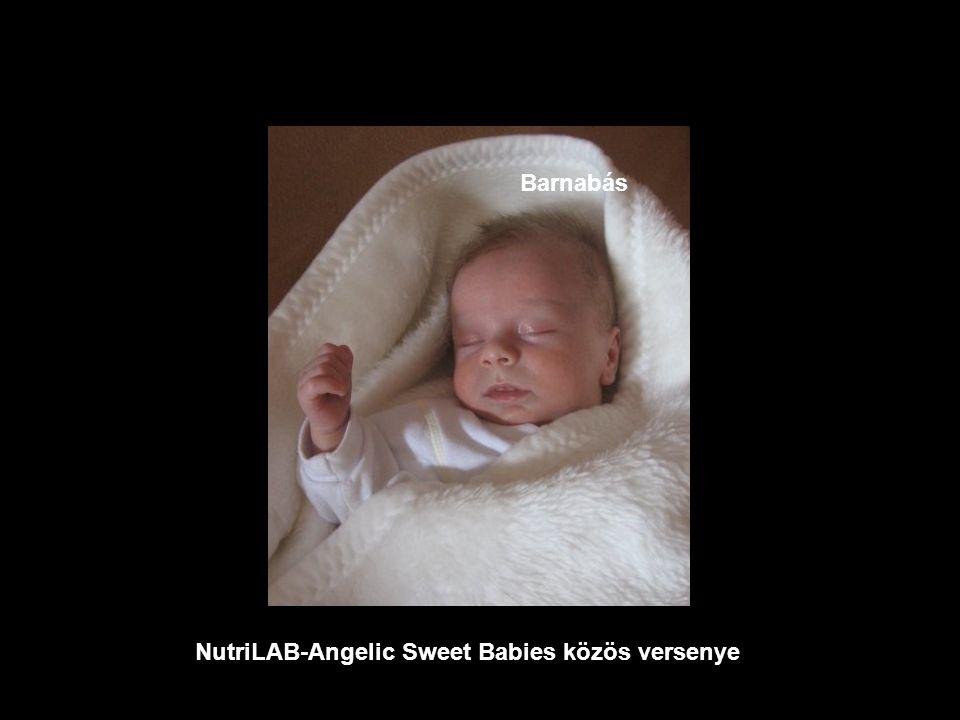 NutriLAB-Angelic Sweet Babies közös versenye Abigél