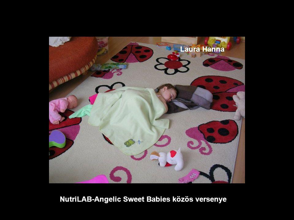 NutriLAB-Angelic Sweet Babies közös versenye Enikő Ágnes