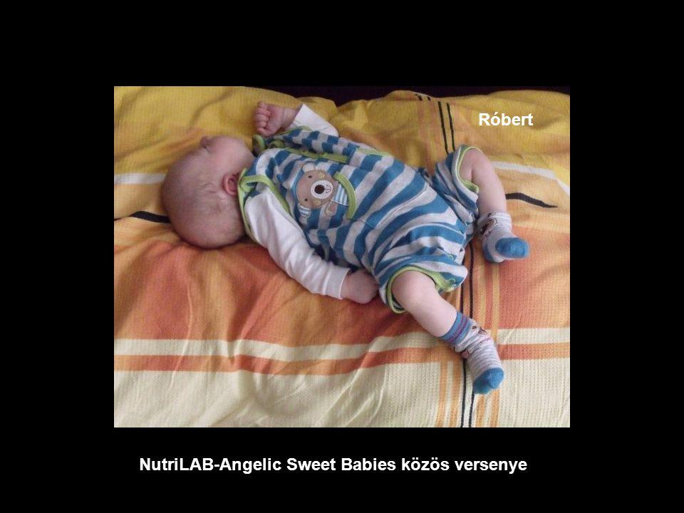 NutriLAB-Angelic Sweet Babies közös versenye Laura Hanna