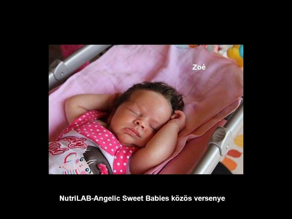 NutriLAB-Angelic Sweet Babies közös versenye Róbert