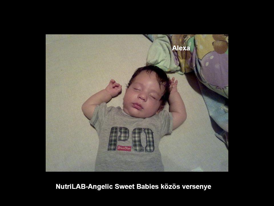 NutriLAB-Angelic Sweet Babies közös versenye Martin
