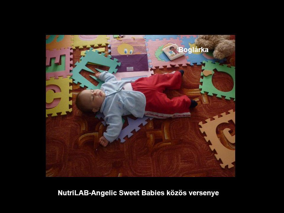 NutriLAB-Angelic Sweet Babies közös versenye Anna Vivien