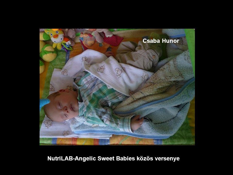 NutriLAB-Angelic Sweet Babies közös versenye Csenge Zsófia