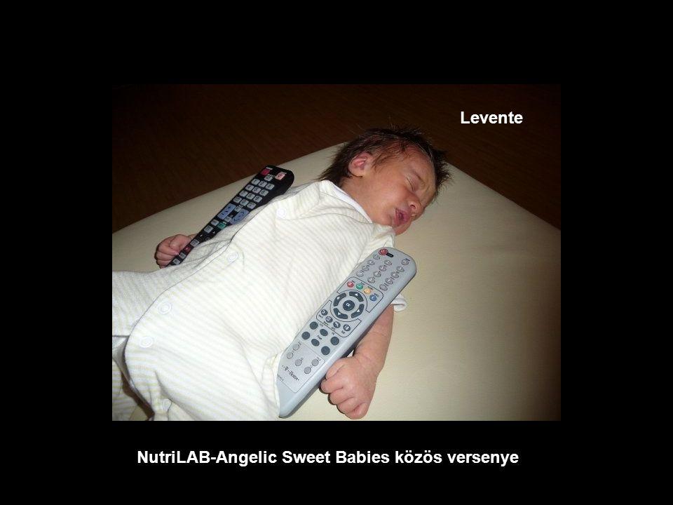 NutriLAB-Angelic Sweet Babies közös versenye Zsófia
