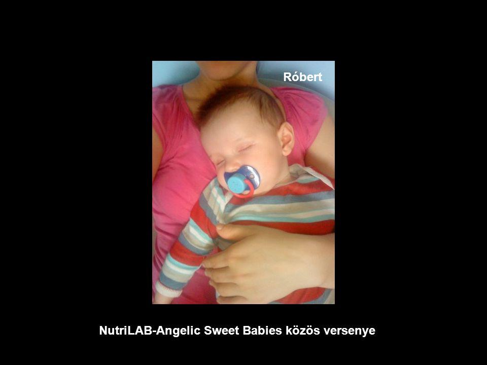 NutriLAB-Angelic Sweet Babies közös versenye Levente
